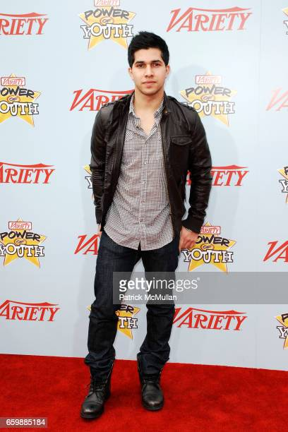 Walter Perez attends Variety's 3rd Annual POWER OF YOUTH Event at Paramount Studios on December 5 2009 in Hollywood CA