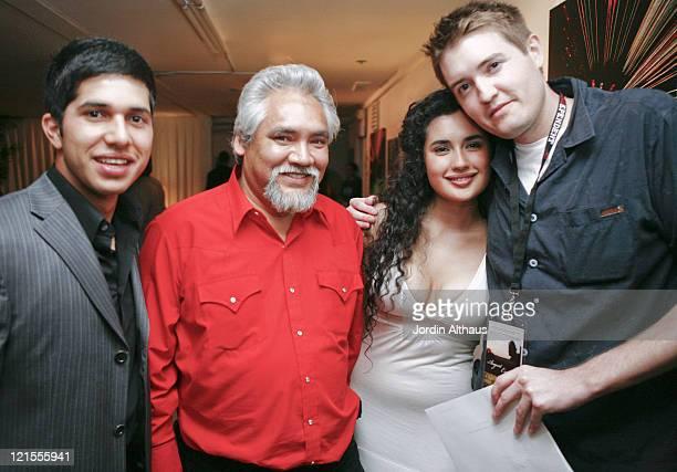 Walter Perez Pete Castaneda Veronica Loren and Chris Eska