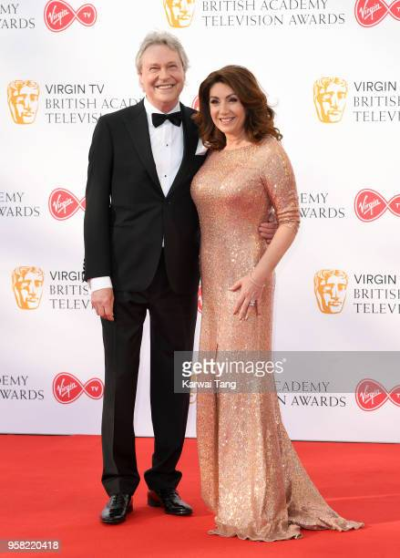 Walter Rothe and Jane McDonald attend the Virgin TV British Academy Television Awards at The Royal Festival Hall on May 13 2018 in London England
