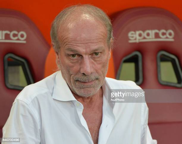 Walter Sabatini during the Italian Serie A football match between AS Roma and FC Inter at the Olympic Stadium in Rome on august 26 2017