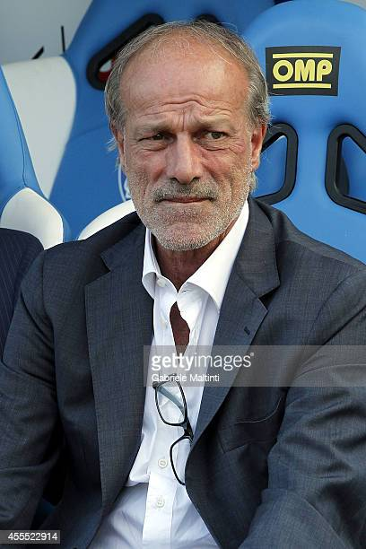 Walter Sabatini sporting director of AS Roma before the Serie A match between Empoli FC and AS Roma at Stadio Carlo Castellani on September 13 2014...