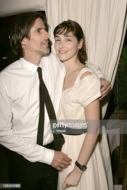 Walter Salles and Maria Klabin during 2004 Cannes Film Festival Motorcycle Diaries Party at La Plage Coste in Cannes France