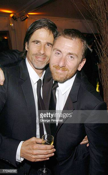 Walter Salles and Tim Roth