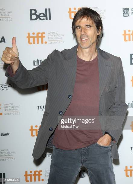 Walter Salles arrives at On The Road premiere during the 2012 Toronto International Film Festival held at Ryerson Theatre on September 6 2012 in...