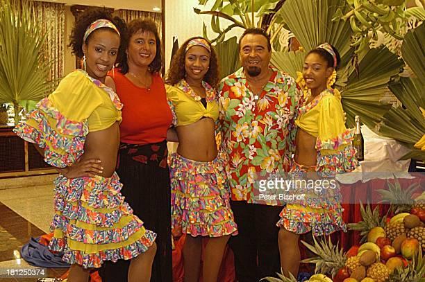 Walter Scholz Ehefrau Silvia Sohn Alexander Hotel 'Riu Palace Macao' Playa Arena Gorda Punta Cana Dominikanische Republik Karibik Luxushotel...