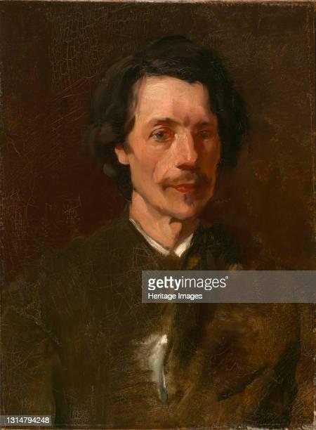 Walter Shirlaw, ca. 1873. Artist Frank Duveneck.