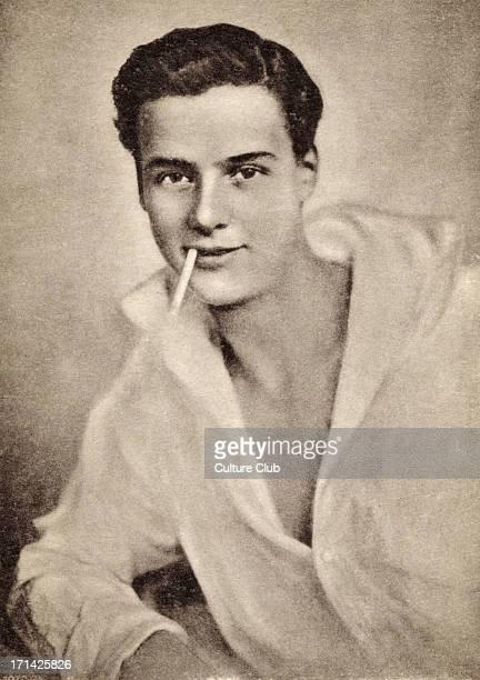 Walter Slezak - Austro-Hungarian actor and son of the Wagnerian opera singer Leo Slezak. 1902-1983. Publicity still.