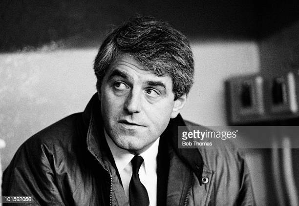 Walter Smith manager of Glasgow Rangers during a Scottish Premier Division match against Hearts held at Ibrox Stadium Glasgow on 29th November 1986...