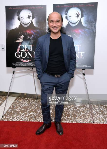 Walter Tabayoyong attends the premiere of Get Gone at Arena Cinelounge on January 24 2020 in Hollywood California