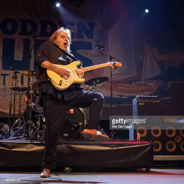 Walter Trout performs on stage at The Notodden Blues Festival on August 1 2019 in Notodden Norway