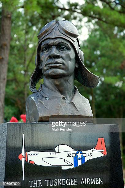 Walterboro South Carolina 7152014 The Tuskegee Airmen Monument at the Lowcountry Regional Airport Credit Mark Reinstein