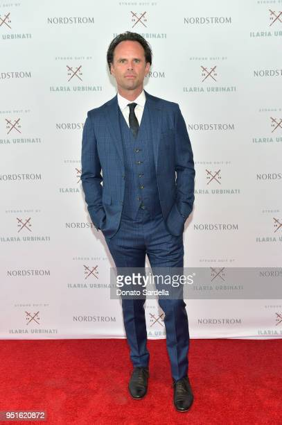 Walton Goggins attends Strong Suit by Ilaria Urbinati Launch Party at Nordstrom Local in Los Angeles on April 26 2018