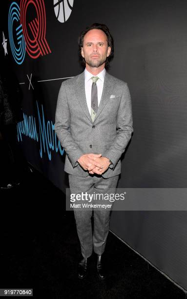 Walton Goggins attends the 2018 GQ x Neiman Marcus All Star Party at Nomad Los Angeles on February 17 2018 in Los Angeles California