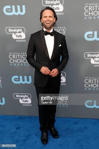 Walton Goggins attends the 23rd Annual Critics' Choice Awards at Barker Hangar on January 11 2018 in Santa Monica California