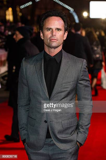Walton Goggins attends the European Premiere of The Hateful Eight at Odeon Leicester Square on December 10 2015 in London England