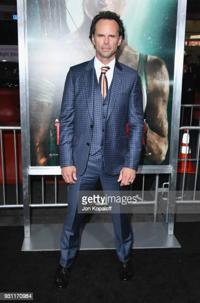 Walton Goggins attends the Los Angeles Premiere 'Tomb Raider' at TCL Chinese Theatre IMAX on March 12 2018 in Hollywood California