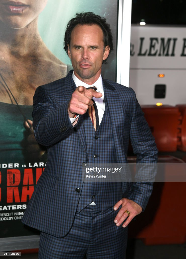 Walton Goggins attends the premiere of Warner Bros. Pictures' 'Tomb Raider' at TCL Chinese Theatre on March 12, 2018 in Hollywood, California.