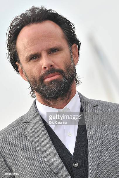 Walton Goggins attends the Six photocall at Palais des Festivals on October 17 2016 in Cannes France