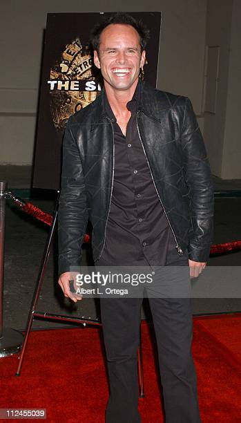 """Walton Goggins during """"The Shield"""": Season Three Premiere Screening at The Zanuck Theater in West Los Angeles, California, United States."""