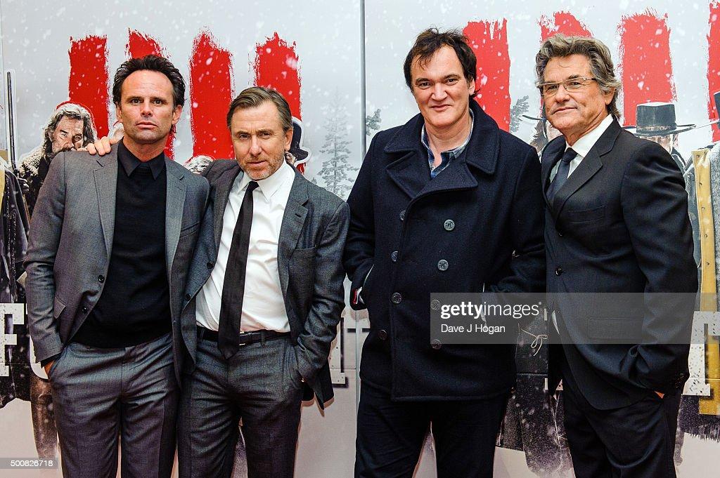 """The Hateful Eight"" - European Premiere - VIP Arrivals"
