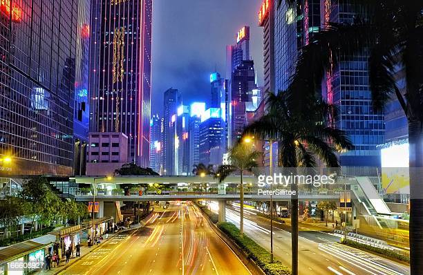 wan chai - wanchai stock photos and pictures