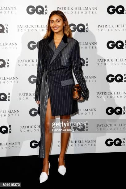 Wana Limar attends the GQ Bar opening at Patrick Hellmann Schlosshotel on December 13 2017 in Berlin Germany