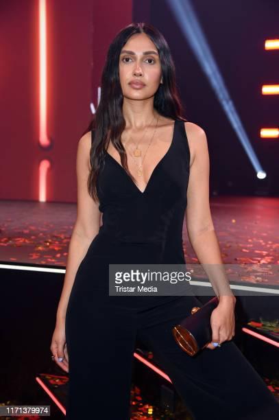 Wana Limar attends the YouTube Goldene Kamera Digital Awards at Kraftwerk on September 26 2019 in Berlin Germany