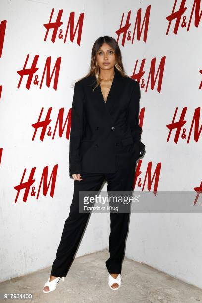 Wana Limar during the Inter/VIEW X HM Party on February 13 2018 in Berlin Germany