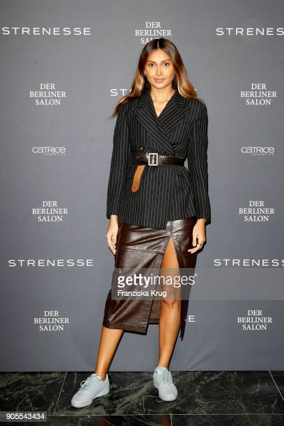 Wana Limar during the Strenesse presentation during 'Der Berliner Salon' AW 18/19 at The Gate on January 16 2018 in Berlin Germany