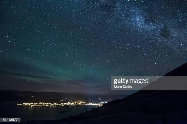 Wanaka - Aurora Australis and Milky Way