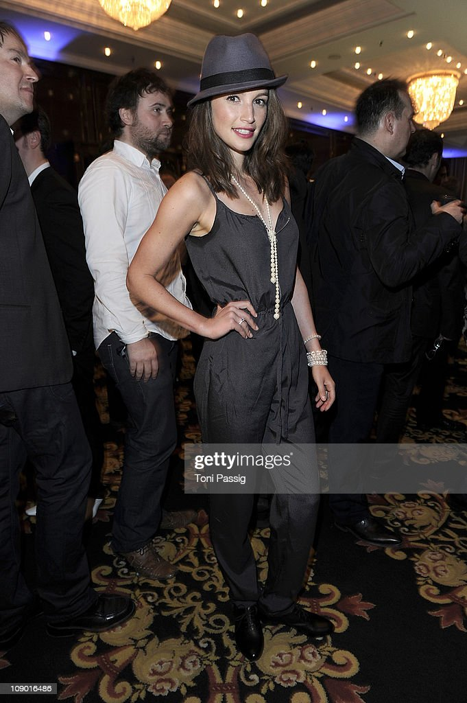 Wanda Badwal attends the Movie meets Media Party at Ritz Carlton on February 11, 2011 in Berlin, Germany.