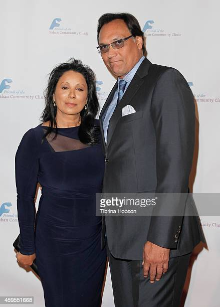 Wanda De Jesus and Jimmy Smits attend the Saban Clinic's 38th annual gala at The Beverly Hilton Hotel on November 24 2014 in Beverly Hills California