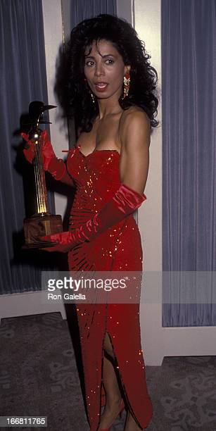 Wanda De Jesus attends 22nd Annual Nostros Golden Eagle Awards on June 5 1992 at the Beverly Hilton Hotel in Beverly Hills California