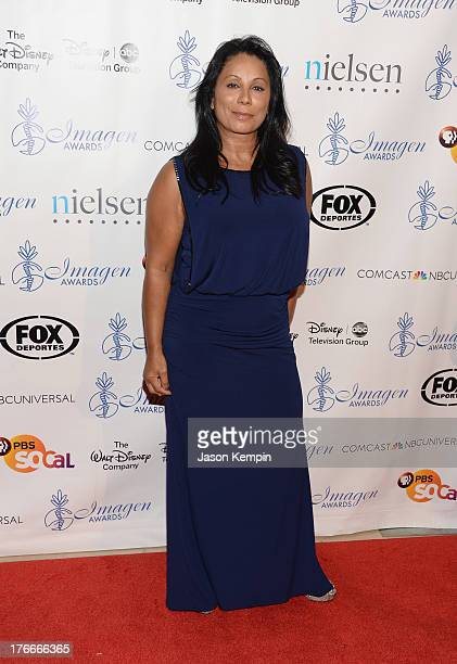 Wanda De Jesus attends the 28th Annual Imagen Awards at The Beverly Hilton Hotel on August 16 2013 in Beverly Hills California