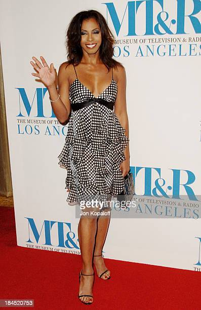 Wanda De Jesus during The Museum of Television Radio Honors Leslie Moonves and Jerry Bruckheimer Arrivals at Beverly Wilshire Hotel in Beverly Hills...