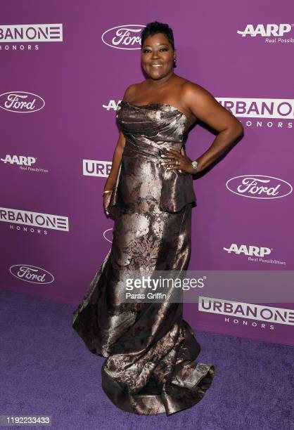 Wanda Durant attends 2019 Urban One Honors at MGM National Harbor on December 05 2019 in Oxon Hill Maryland