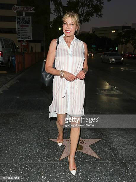 Wanda Huizenga is seen outside the Avalon nightclub on October 11 2015 in Los Angeles California