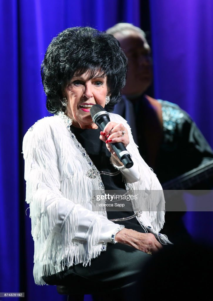 Wanda Jackson performs at An Evening With Wanda Jackson on November 14, 2017 at the GRAMMY Museum in Los Angeles, California.