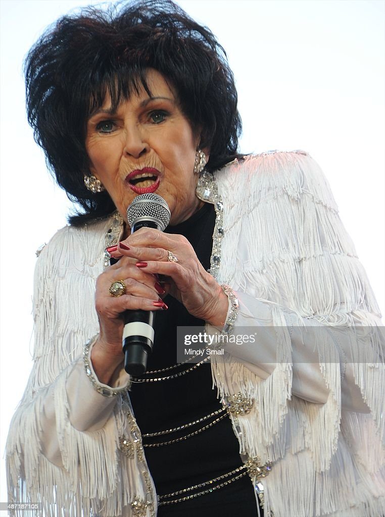Wanda Jackson performs at the 2014 Stagecoach California's Country Music Festival at The Empire Polo Club on April 27, 2014 in Indio, California.