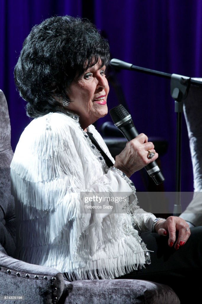 Wanda Jackson speaks onstag at An Evening With Wanda Jackson on November 14, 2017 at the GRAMMY Museum in Los Angeles, California.