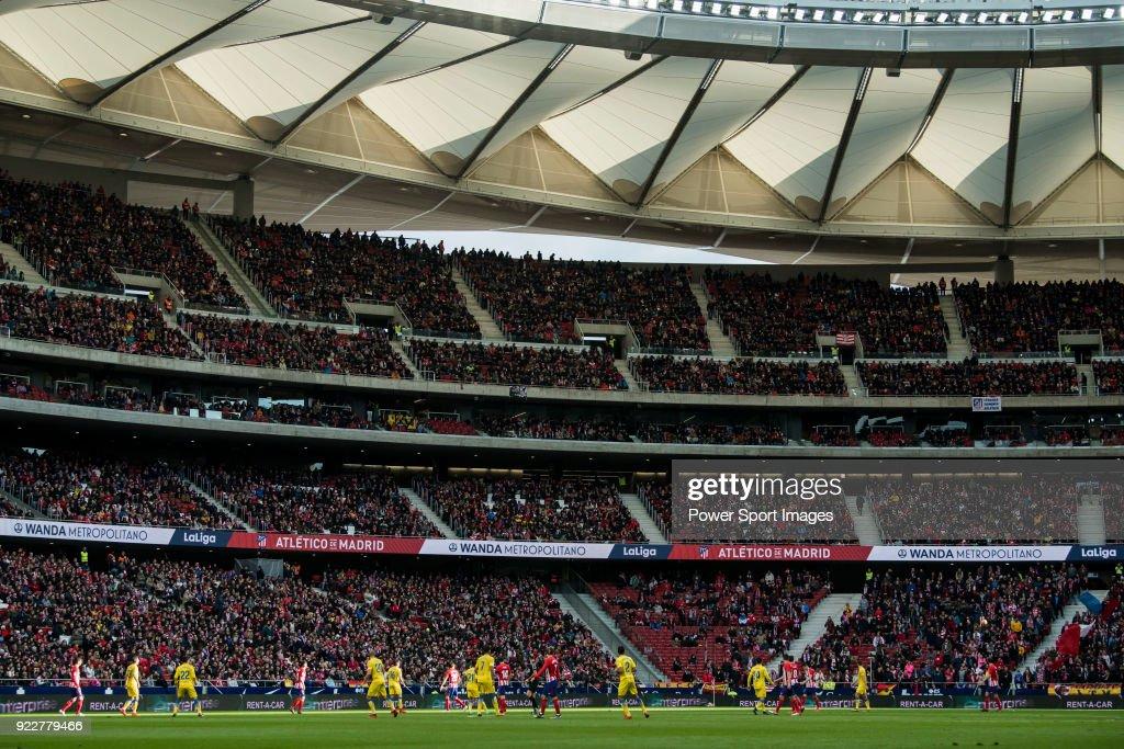 Wanda Metropolitano stadium is seen during the La Liga 2017-18 match between Atletico de Madrid and UD Las Palmas on January 28 2018 in Madrid, Spain.