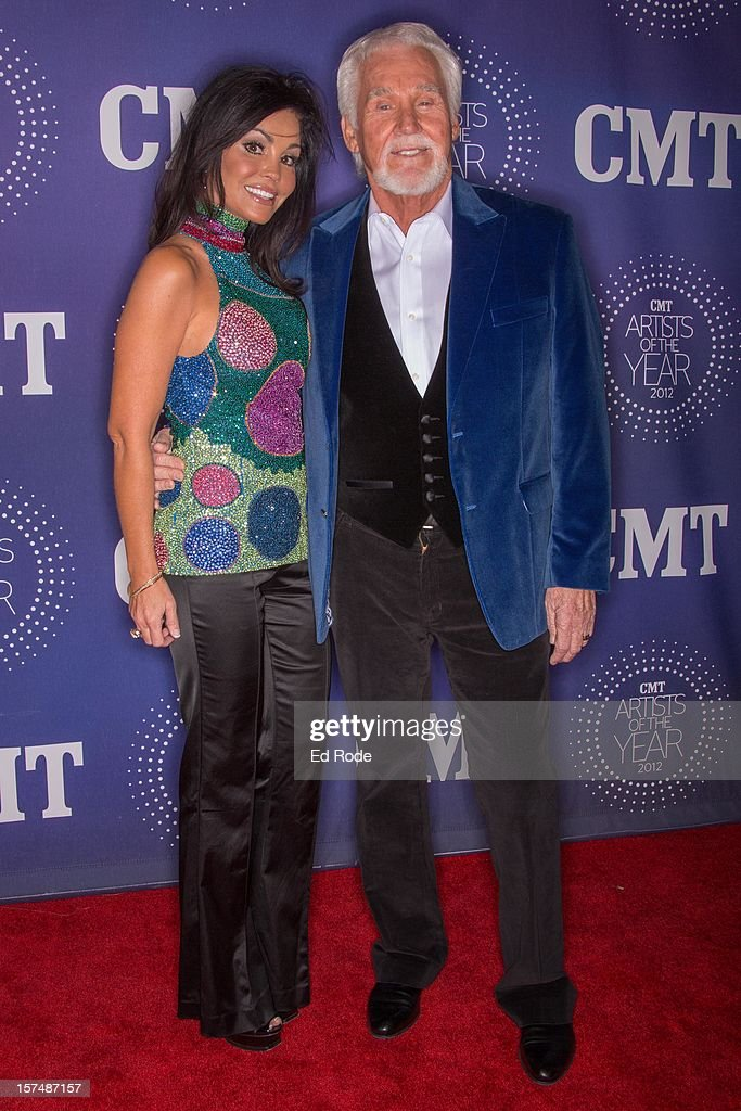 Wanda Miller and Kenny Rogers attend the CMT Artist of the Year Awards at The Factory At Franklin on December 3, 2012 in Franklin, Tennessee.