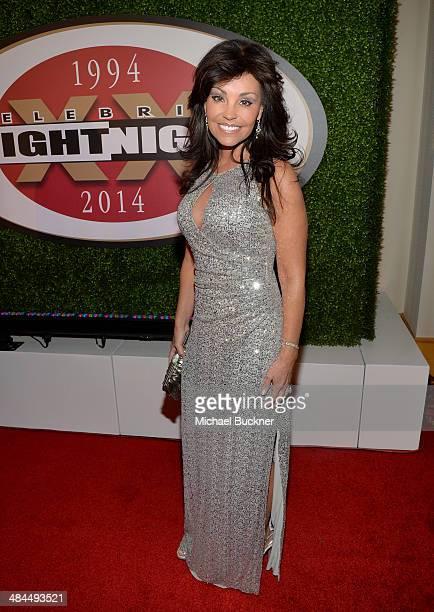 Wanda Miller attends Muhammad Ali's Celebrity Fight Night XX held at the JW Marriott Desert Ridge Resort Spa on April 12 2014 in Phoenix Arizona