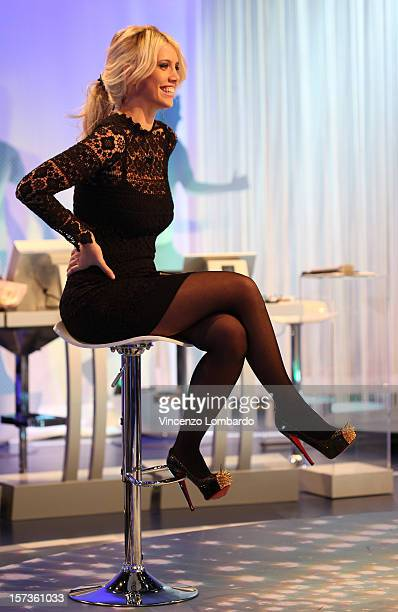 Wanda Nara attends 'Cielo Che Gol' Italian TV Show on December 2 2012 in Milan Italy