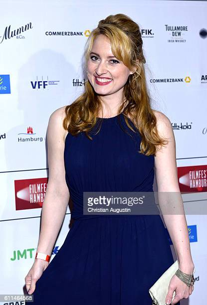 Wanda Perdelwitz attends the premiere of 'Amerikanisches Idyll' during the opening night of Hamburg Film Festival 2016 on September 29 2016 in...