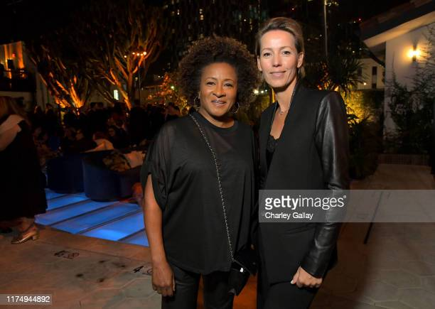 Wanda Sykes and Alex Sykes attend the 2019 Netflix Creative Arts Emmy After Party at Hotel Figueroa on September 15 2019 in Los Angeles California