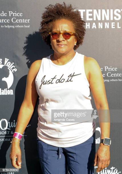 Wanda Sykes arrives at The 14th Annual Desert Smash Celebrity Tennis Event on March 6 2018 in La Quinta California