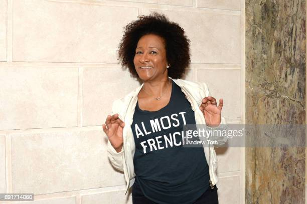 Wanda Sykes attends the 10th anniversary Films on the Green opening cocktail party at Cultural Services of the French Embassy on June 2 2017 in New...