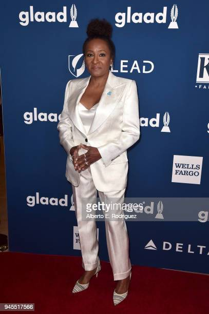 Wanda Sykes attends the 29th Annual GLAAD Media Awards at The Beverly Hilton Hotel on April 12 2018 in Beverly Hills California