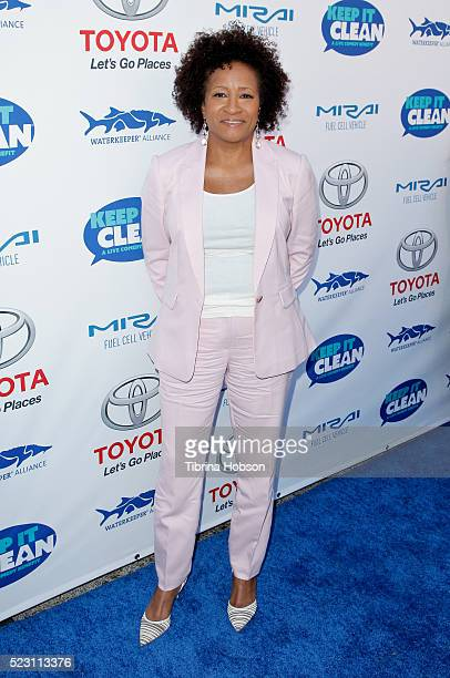 Wanda Sykes attends the 'Keep It Clean A Live Comedy Benefit For Waterkeeper Alliance' at Avalon on April 21 2016 in Hollywood California